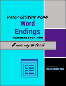 word-endings