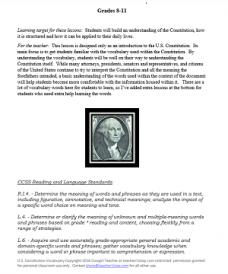 US Constitution Vocabulary 2