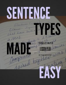 Sentence Types Made Easy Lesson Plan