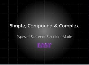 Sentence Structures thumbnail
