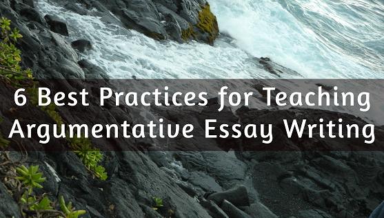 Argumentative Essay Writing558